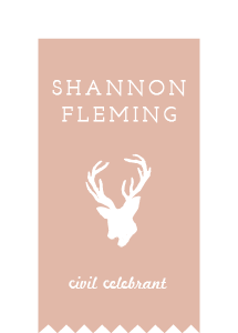 Shannon Fleming – Civil Celebrant logo